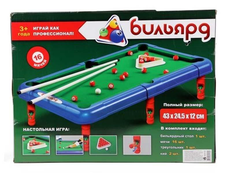 купить Настольная игра Joy Toy Бильярд 2264 дешево