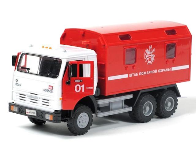 Игрушка Joy Toy Грузовик Штаб пожарной охраны 9119B