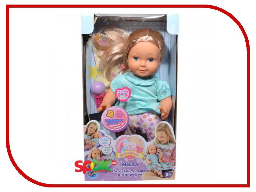 Кукла Joy Toy Мила 5372 40cm silicone reborn baby doll toy 16inch newborn princess girls babies dolls birthday xmas gift girls bonecas play house toy
