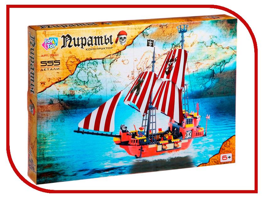 Конструктор Joy Toy Пиратский корабль 555дет. 3061 игрушка полесьепиратский корабль конструктор 62246