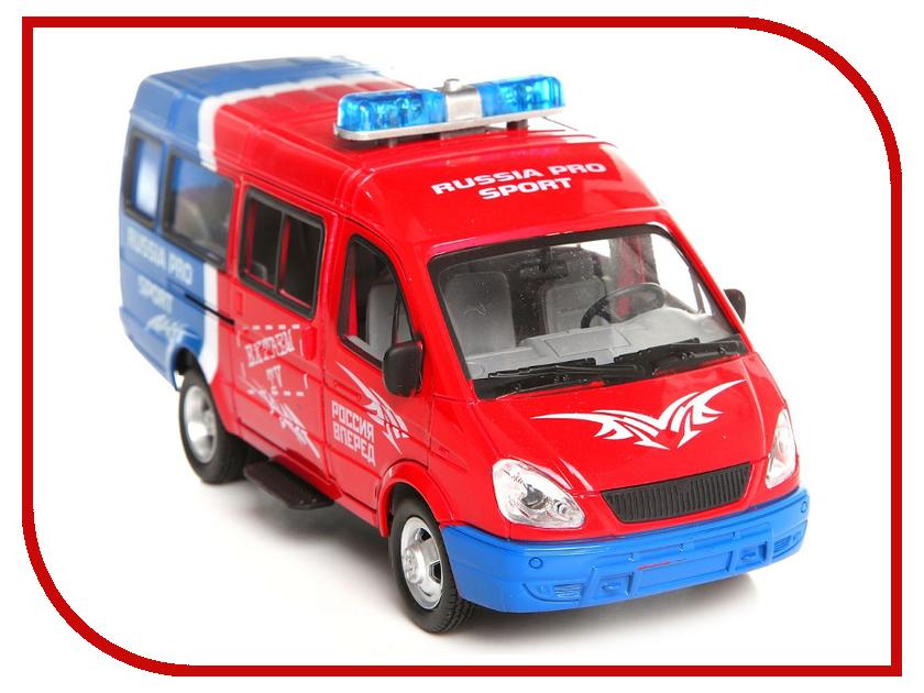 Игрушка Joy Toy Микроавтобус Russia Pro Sport 9098-B