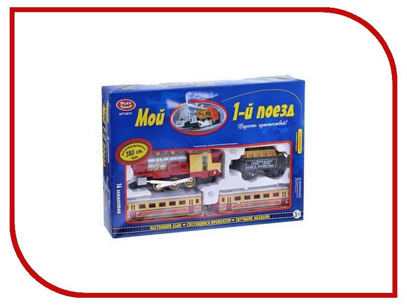 Игрушка Joy Toy Мой 1-ый поезд 16эл. 615 железная дорога joy toy мой первый поезд 16эл 380 см 0615