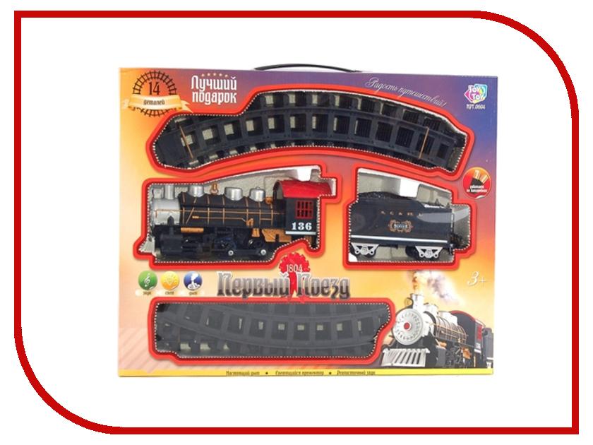 Игрушка Joy Toy Первый поезд 14эл. 694 железная дорога joy toy мой первый поезд 16эл 380 см 0615