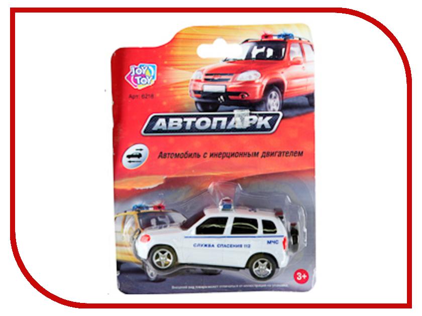 Игрушка Joy Toy Автопарк Машинка с мигалкой 6218