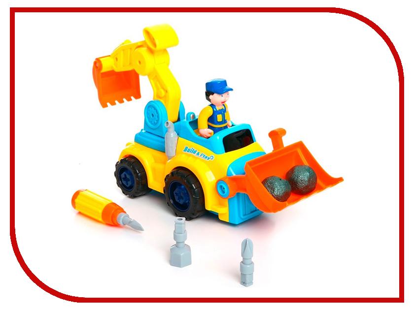 Конструктор Joy Toy Собирай-ка Экскаватор 9161 цена