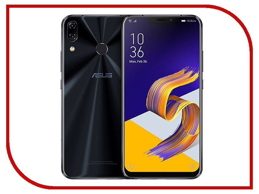 Сотовый телефон ASUS ZenFone 5Z ZS620KL 6/64GB Midnight Blue free shipping bf1ad10 5z bfiad10 5z fuel injection pump suit for changfa changchai and any chinese brand