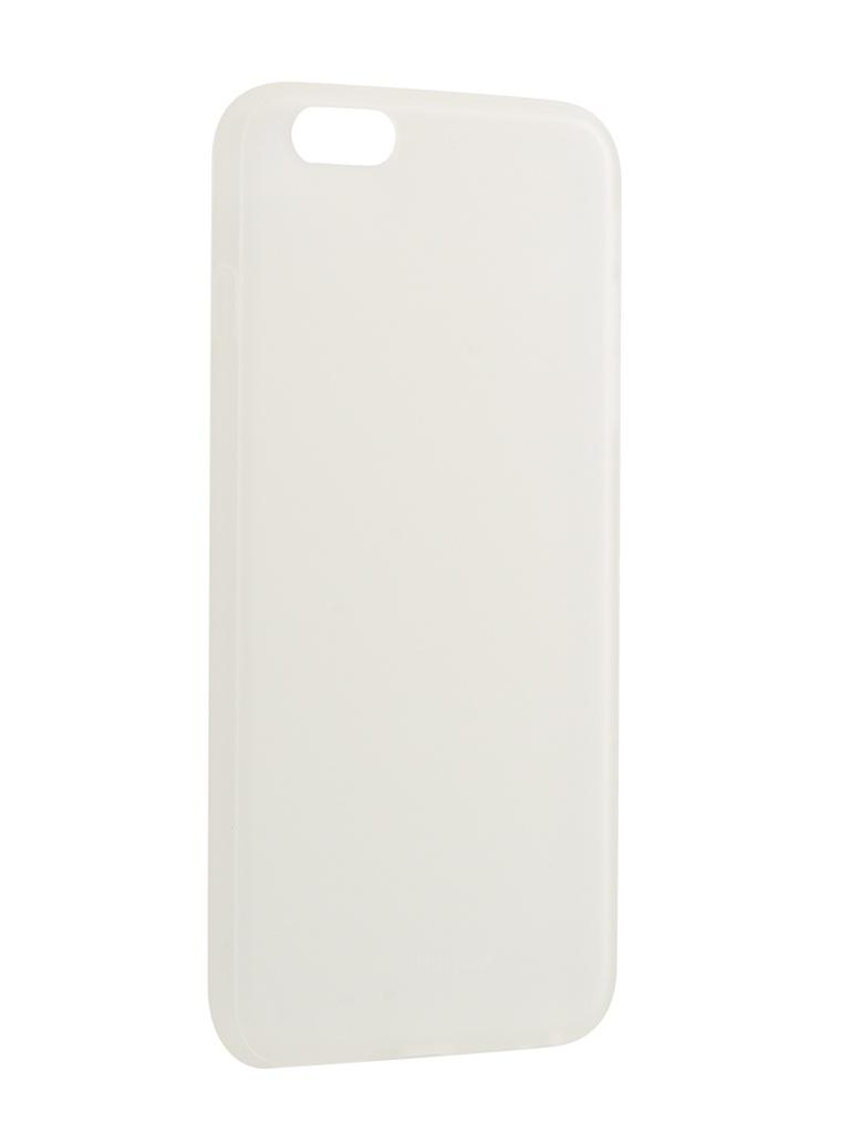 Аксессуар Чехол Melkco для APPLE iPhone 6S Plus Silicone TPU Matt Transparent 6655 цена и фото