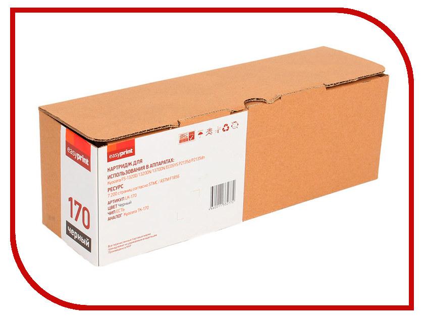 Картридж EasyPrint LK-170 для Kyocera FS-1320D/1320DN/1370DN/ECOSYS P2135d/P2135dn 7200к с чипом картридж t2 tc k170 для kyocera fs 1320d 1320dn 1370dn ecosys p2135d p2135dn