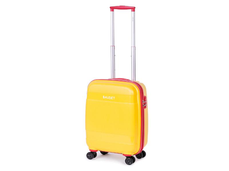 Чемодан Baudet BHL0708802 h-48cm 37L Yellow-Red