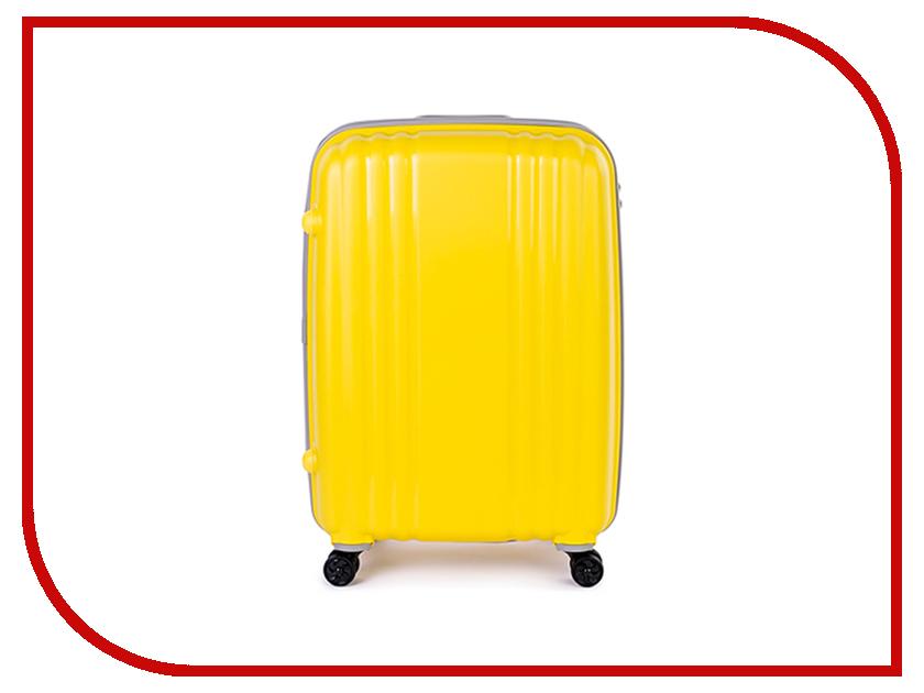 Чемодан Baudet BHL0708803 h-65cm 73.1L Yellow-Grey