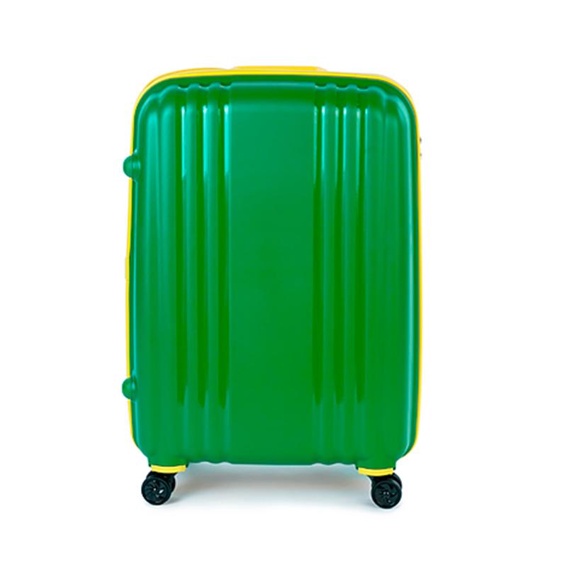 Чемодан Baudet BHL0708803 h-48cm 37L Green Emerald-Yellow цены онлайн
