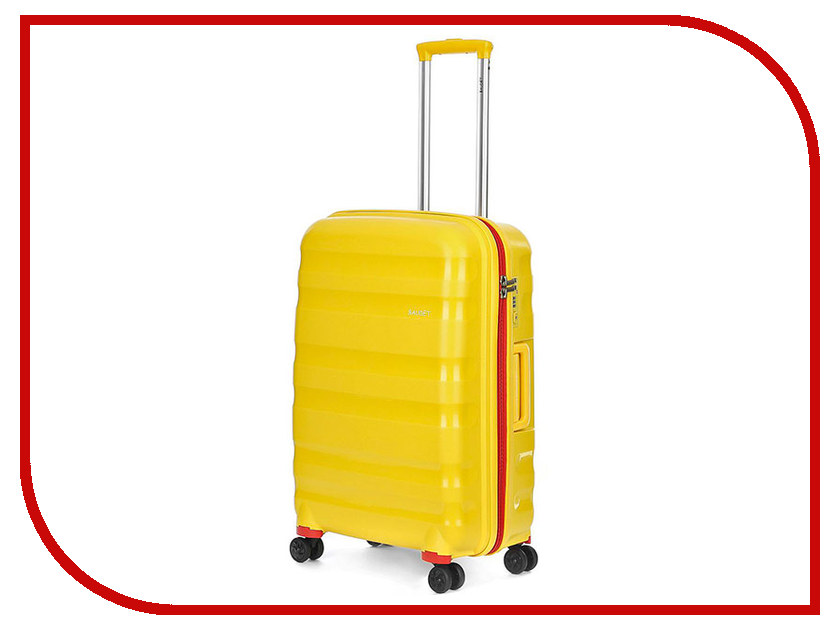 Чемодан Baudet BHL0708807 h-62cm 78.6L Yellow-Red велосипед scott contessa spark 700 2016