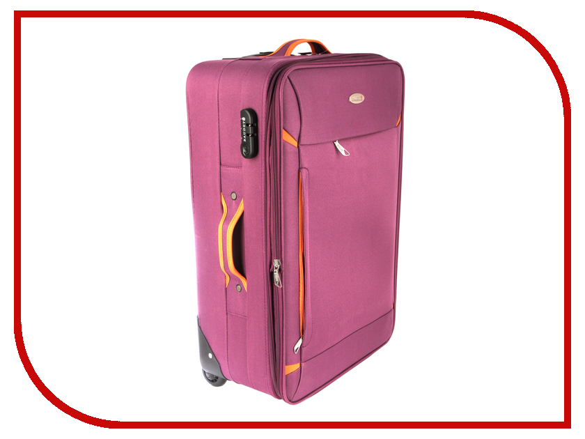 Чемодан Baudet BHL0305206 h-60cm 61L Violet зонт baudet 10598 4 ромашки dark violet