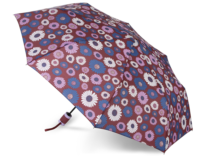 Зонт Baudet 10598-4 Ромашки Bordo
