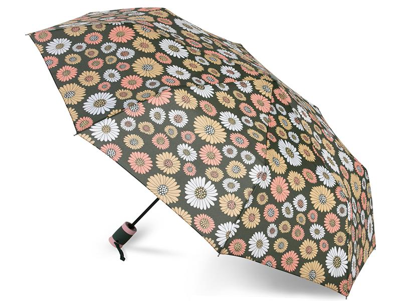 Зонт Baudet 10598-4 Ромашки Dark Green