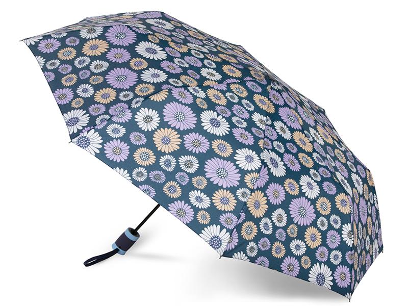 Зонт Baudet 10598-4 Ромашки Dark Blue цены онлайн