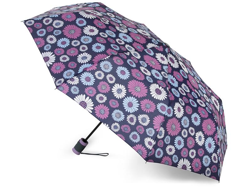 Зонт Baudet 10598-4 Ромашки Dark Violet цены онлайн