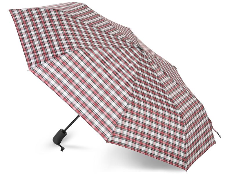 Зонт Baudet 10598-5 Клетка Red-Black