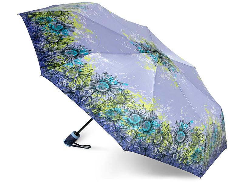 Зонт Baudet 10598-6-503 Подсолнухи Lilac