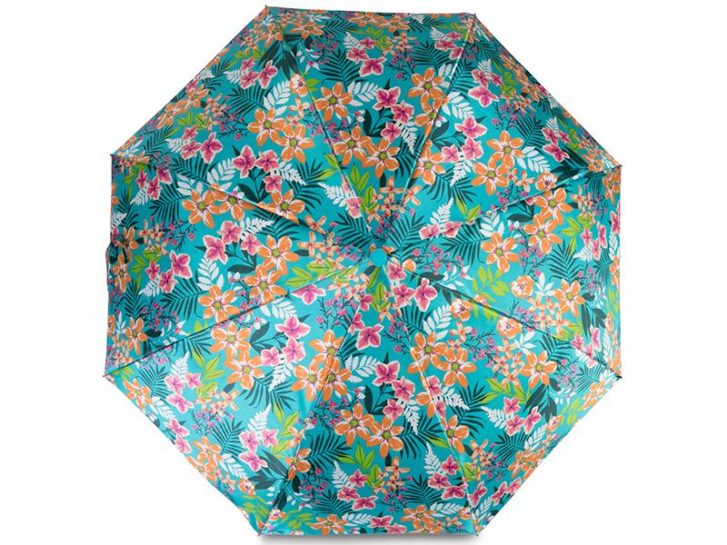 Зонт Baudet 10598-6-503 Цветы Turquoise цены онлайн