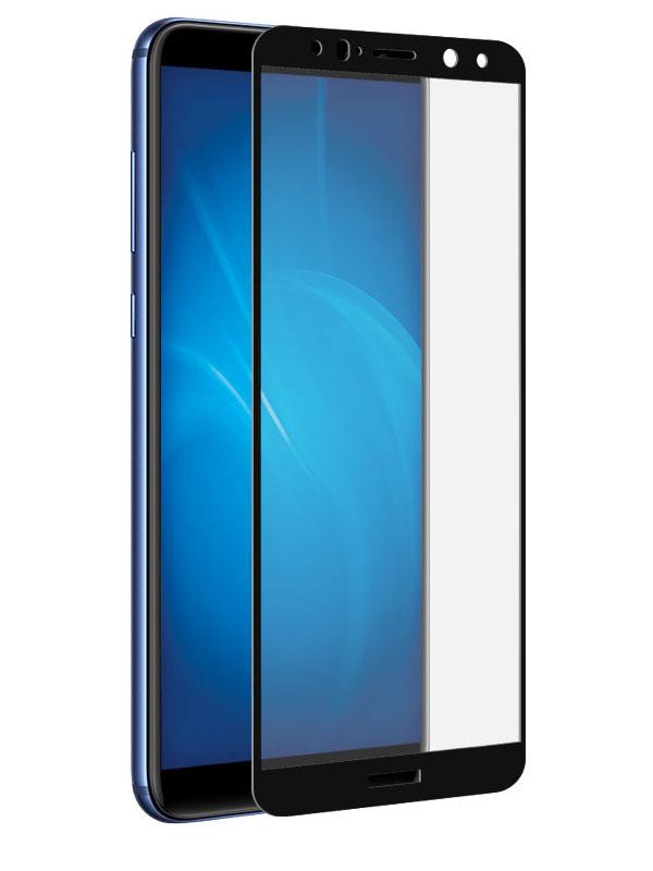 Аксессуар Защитное стекло Onext для Huawei Mate 10 Lite 3D Black 41683 защитное стекло onext для huawei p10 lite 641 41432 с рамкой белый