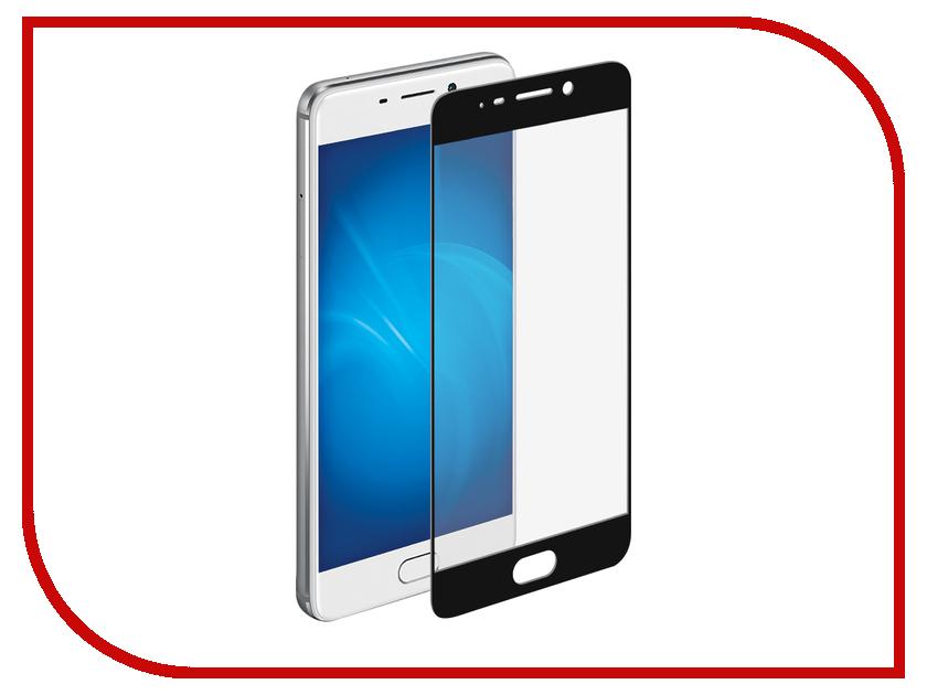 Аксессуар Защитное стекло для Meizu M6 Note Onext с рамкой Black 41527 аксессуар защитное стекло для meizu m5 note meilan note 5 snoogy 0 33mm