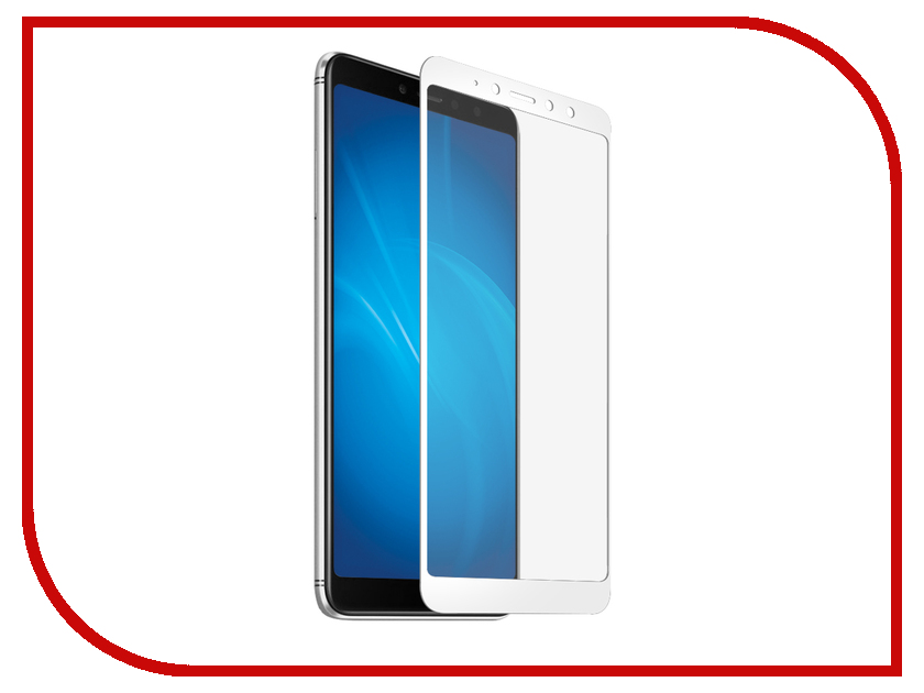 Аксессуар Защитное стекло для Xiaomi Redmi S2 Mobius 3D Full Cover White защитное стекло для redmi s2 full screen