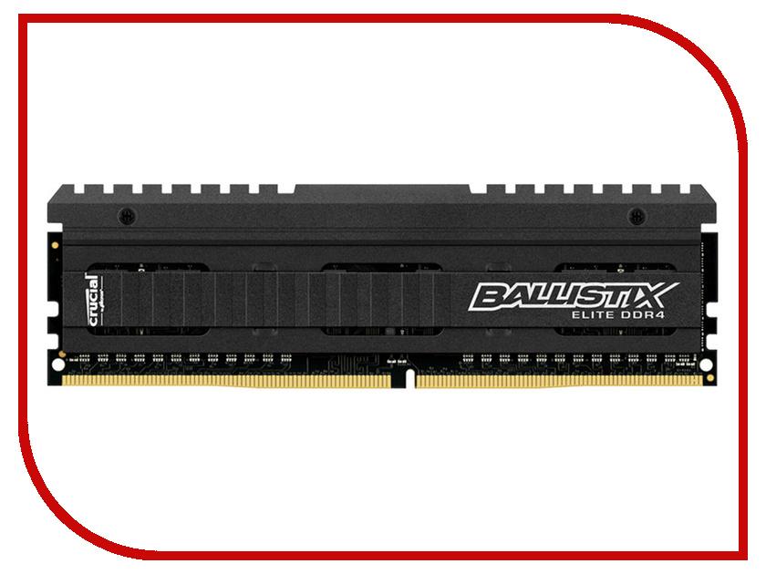 Модуль памяти Crucial Ballistix Elite DDR4 DIMM 2666MHz PC4-21300 CL16 - 4Gb BLE4G4D26AFEA