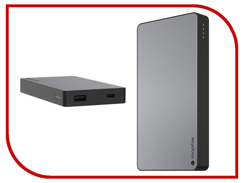 Аккумулятор Mophie Powerstation USB-C 10000mAh Black 3555 цена