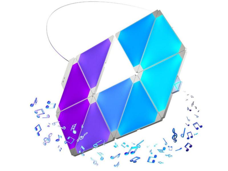 Светильник Nanoleaf Light Panels Rhythm NL22-5002TW-9PK