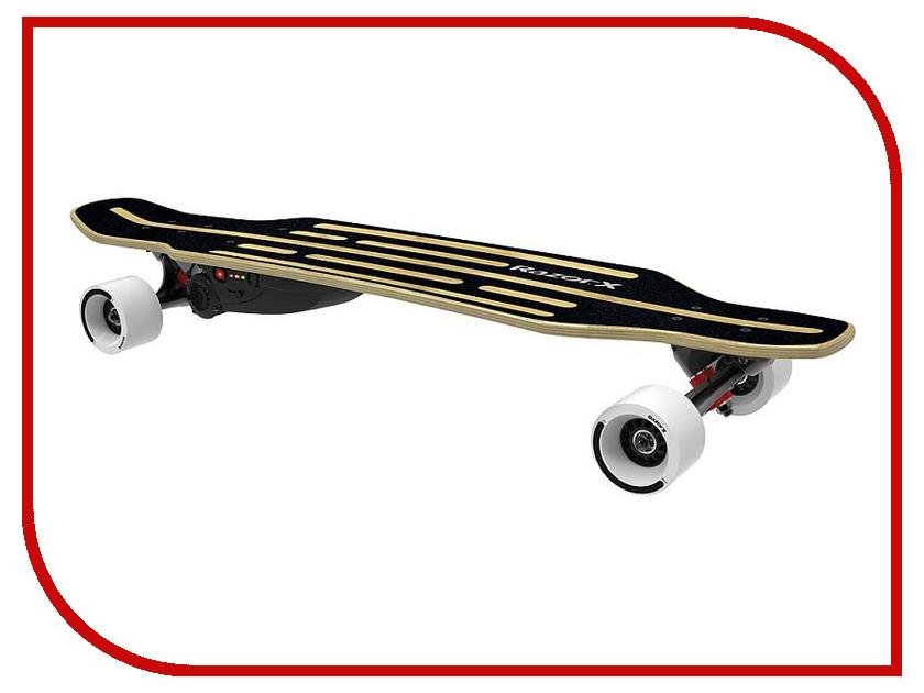 Скейт Razor Electric Skateboard Longboard Black 4 wheel complete skateboard longboard 41 inch