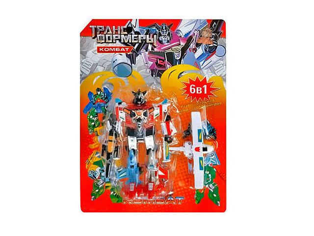 Робот Joy Toy Комбат с самолетом 6 в 1 58365