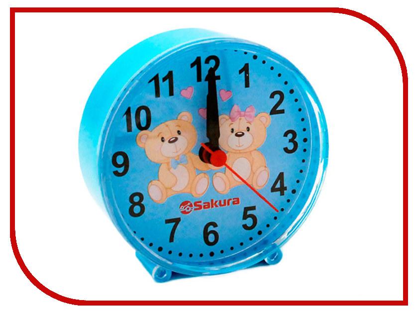 Часы Sakura SA-8513BL машинка для стрижки волос sakura sa 5105bk