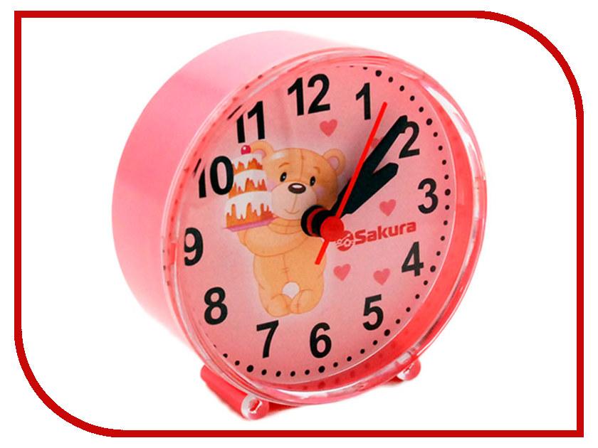 Часы Sakura SA-8513P машинка для стрижки волос sakura sa 5105bk
