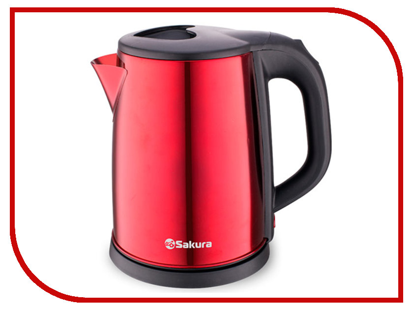 Чайник Sakura SA-2149BR Red термопот sakura sa 334rs steel red page 6