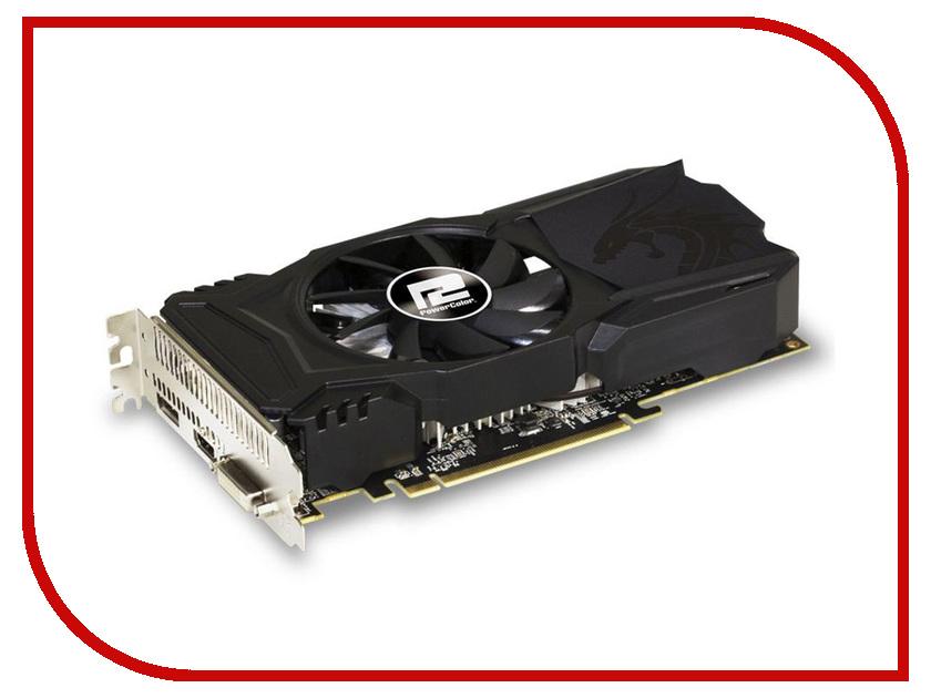 Видеокарта PowerColor Radeon RX 560 1176Mhz PCI-E 3.0 4096Mb 7000Mhz 128 bit DVI HDMI HDCP Red Dragon AXRX 560 4GBD5-DHA ati radeon hd5450 2gb ddr3 pci graphic card red