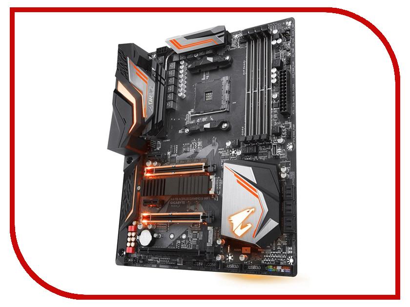 Материнская плата GIGABYTE X470 AORUS GAMING 5 WIFI (rev. 1.0) компьютер gigabyte brix gaming vr
