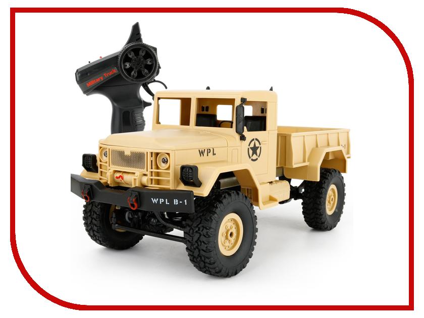 Фото Игрушка Aosenma Military Truck 4WD 1:16 Yellow WPLB-14 ultra loud bicycle air horn truck siren sound 120db