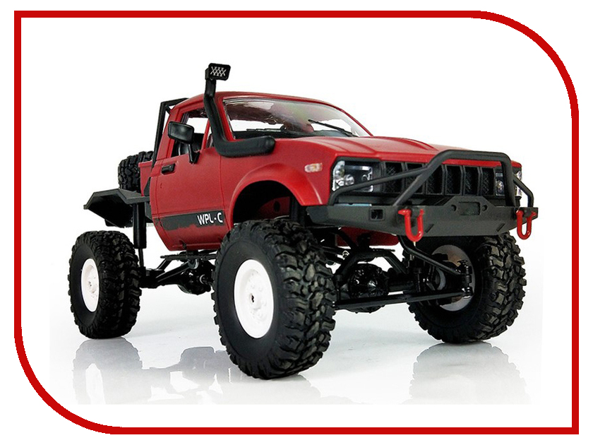 Игрушка Aosenma Offroad Desert Car 1:16 4WD Red WPLC-14-R free ship 5 5inch 36w 10 30v led working light 1pcs set black color 3600lm 6500k boat bridge truck offroad car harvester