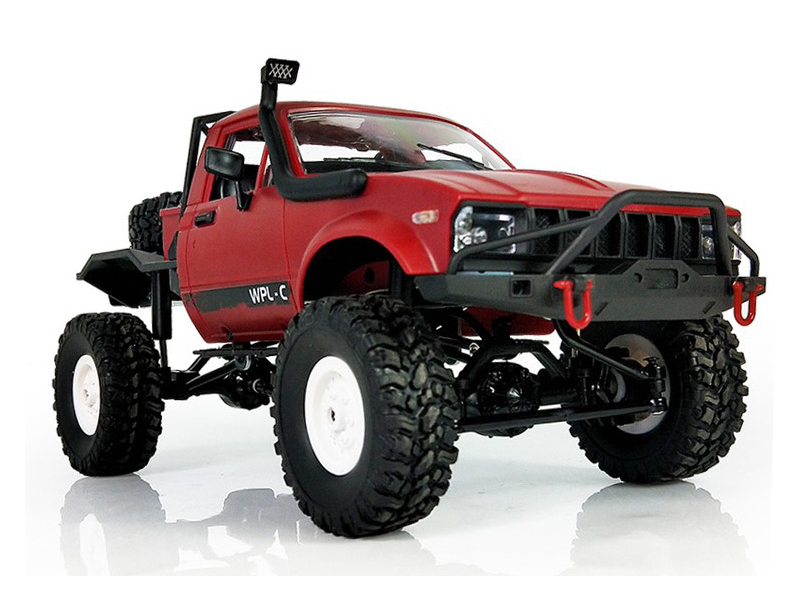 Игрушка Aosenma Offroad Desert Car 1:16 4WD Red WPLC-14-R