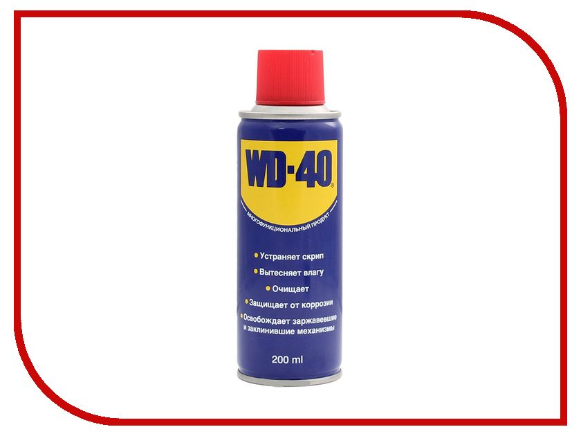 Смазка универсальная WD40 200 мл универсальная смазка на водной основе aquaglide 200 мл