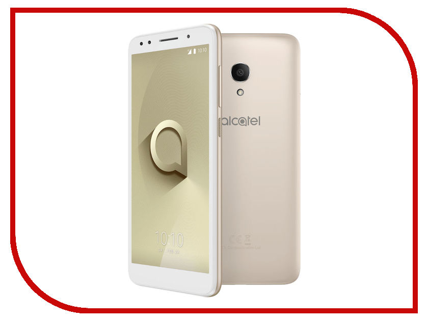 Сотовый телефон Alcatel 1X 5059D 16Gb 2Gb White-Gold сотовый телефон alcatel 5023f pixi power pure white