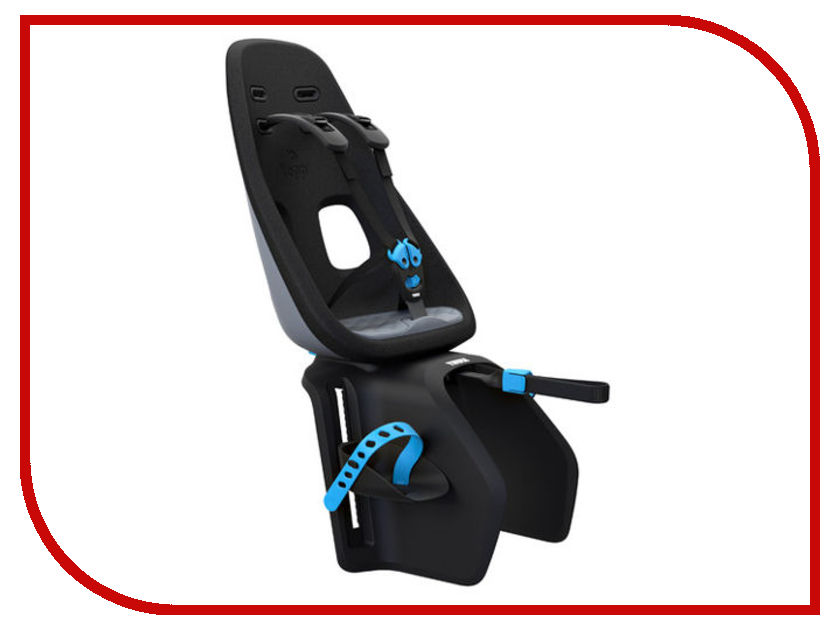 Велокресло Thule Yepp Nexxt Maxi Grey 12080202 детское велокресло thule yepp maxi seat post цвет черный