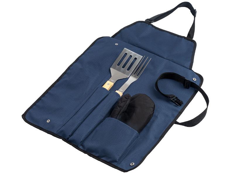 Фартук с набором для барбекю Проект 111 Grill Master Blue 5773.40 цена и фото