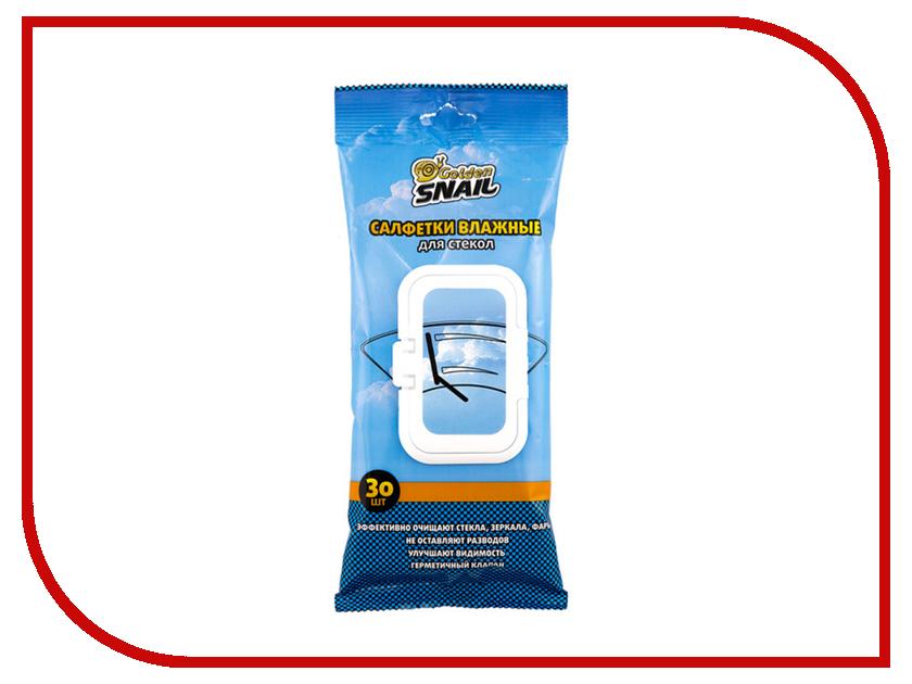 Салфетки влажные Golden Snail для стекол GS 0402