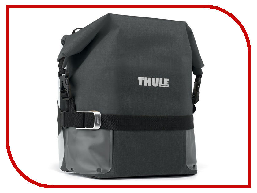 Велосумка Thule Pack-n Pedal Adventure Touring Pannier Small Black 100006