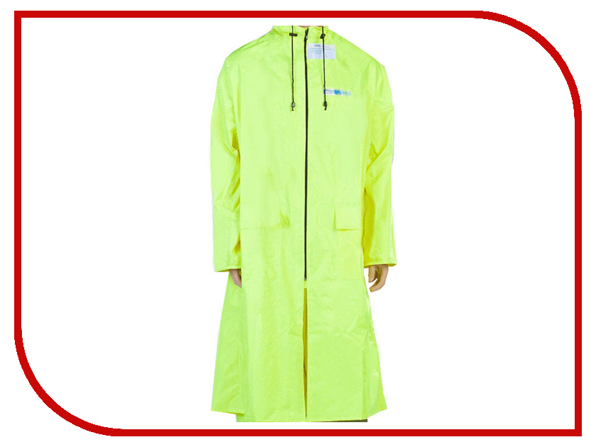 Плащ-дождевик Water Proofline Poseidon р.60-62/182-188 Citric