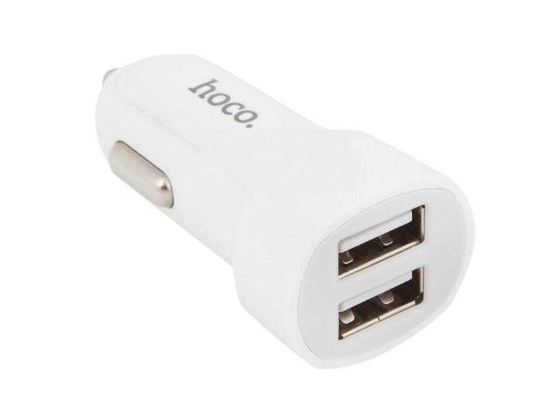 Зарядное устройство Hoco Z2A 2xUSB 2.4A White