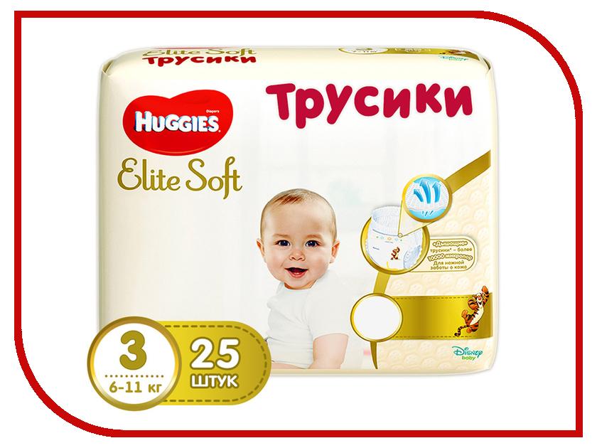 Подгузники Huggies Elite Soft Конв-Пак 3 6-11кг 25шт