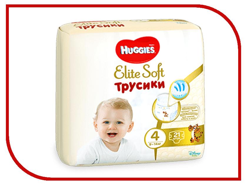 Подгузники Huggies Elite Soft Конв-Пак 4 9-14кг 21шт